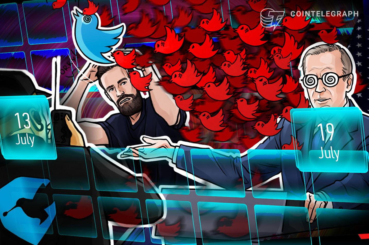 Twitter Hack Special: $120K Stolen, FBI Investigate, Calls to Ban BTC — Hodler's Digest, July 13–19