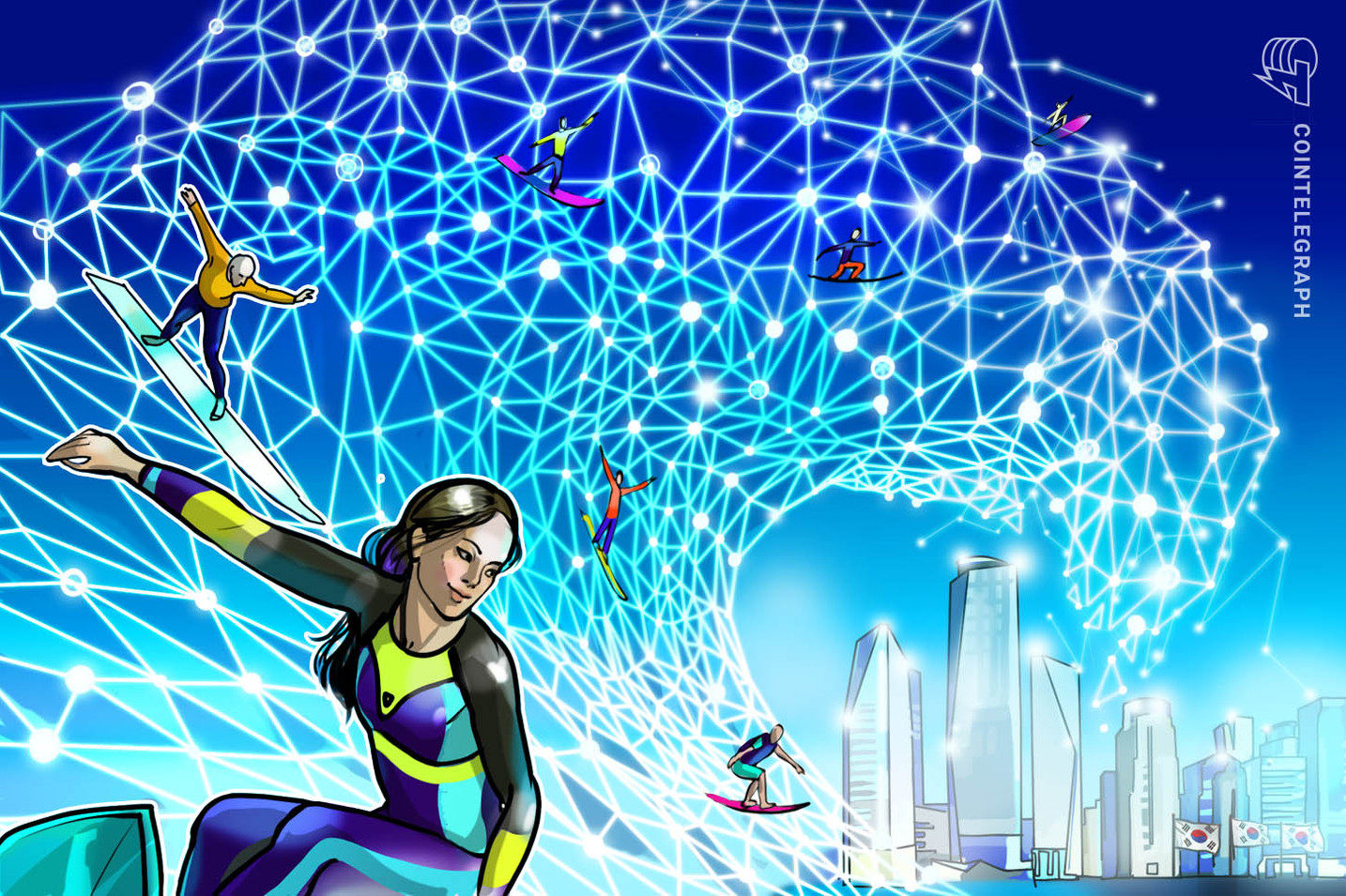 This South Korean City is Spending Millions to Turn People Into Blockchain Experts