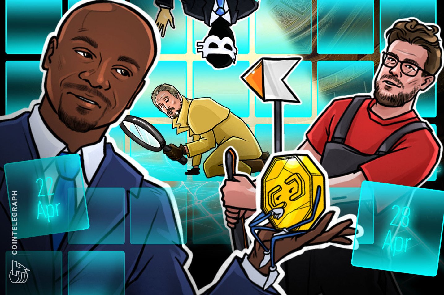 Hodler's Digest, April 22–28: Top Stories, Price Movements, Quotes and FUD of the Week