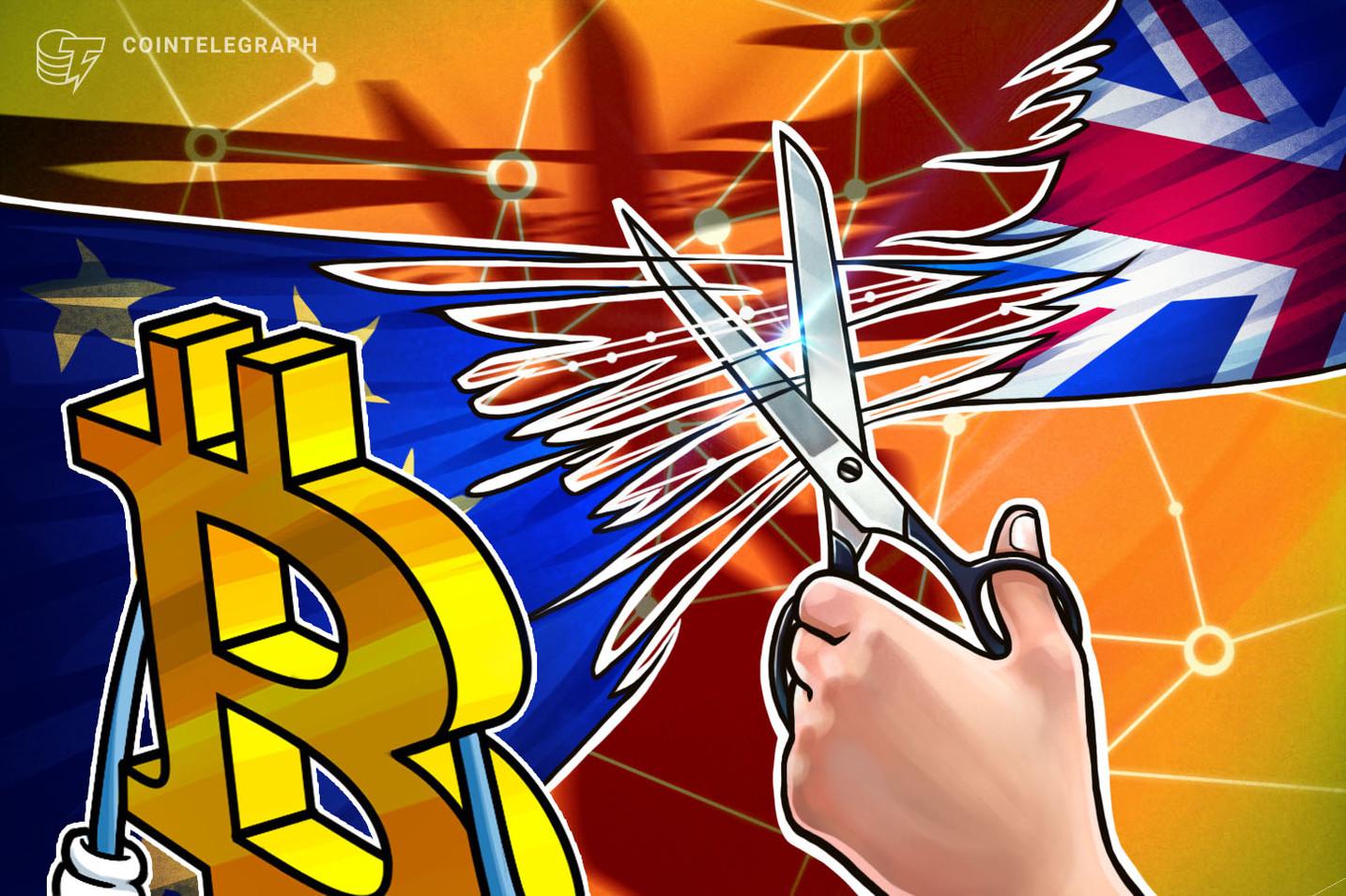 El precio de Bitcoin es estable en comparación con la libra esterlina durante la debacle por el Brexit