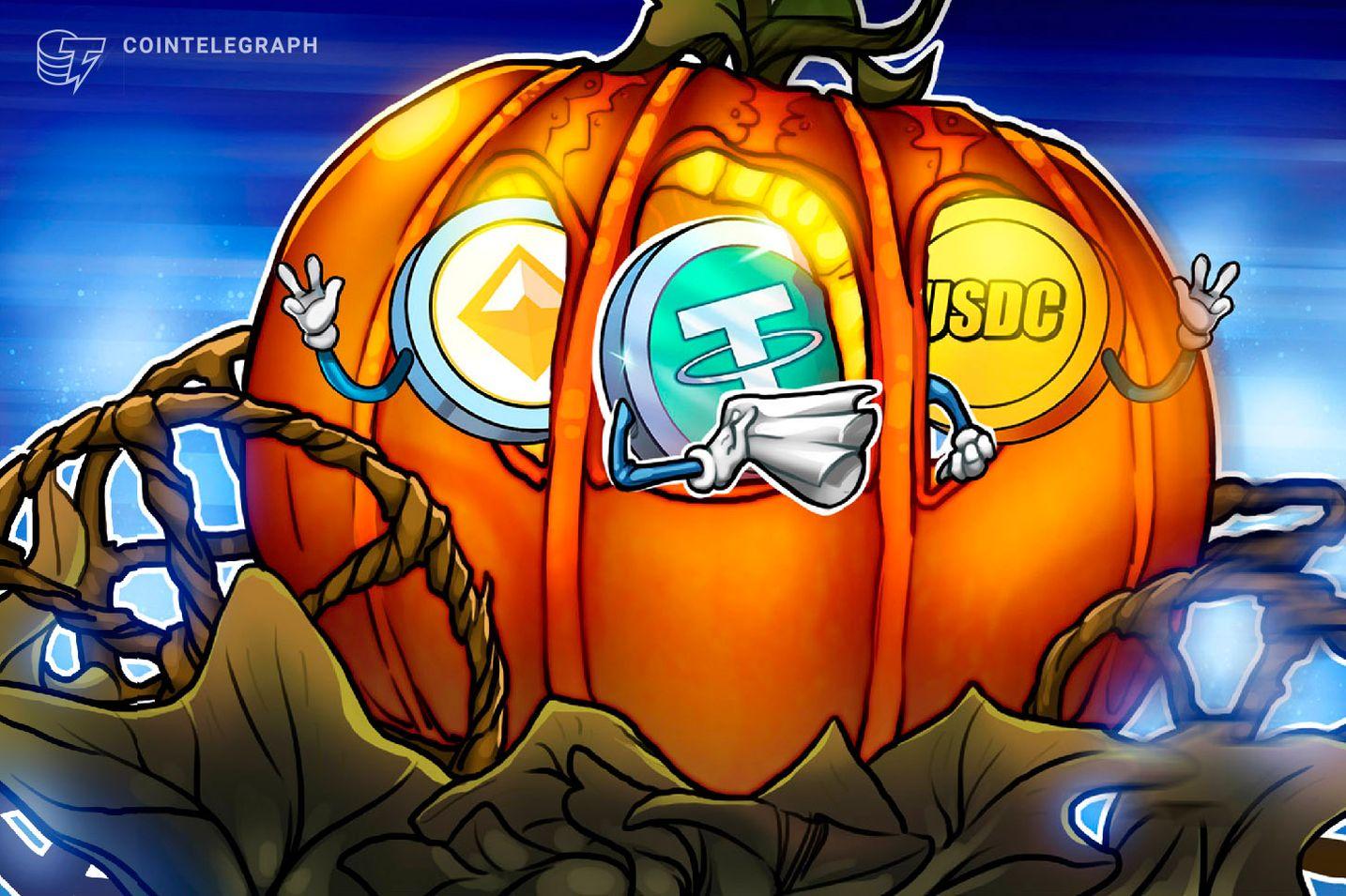 La actividad en cadena de las stablecoins explotó cuando Bitcoin superó los 11,000 dólares