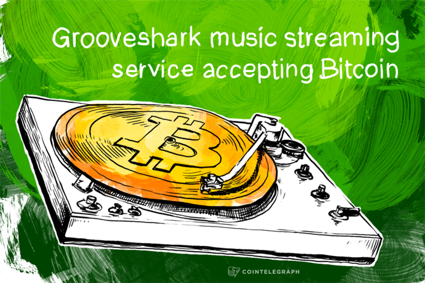 Grooveshark music streaming service accepting Bitcoin