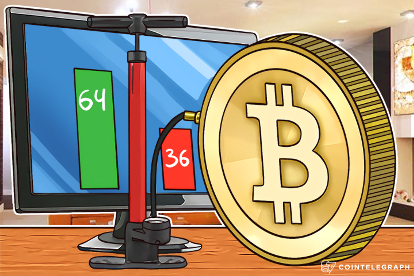 The Bigger, the Better: 64% of Bitcoin Users Vote For Block Size Increase