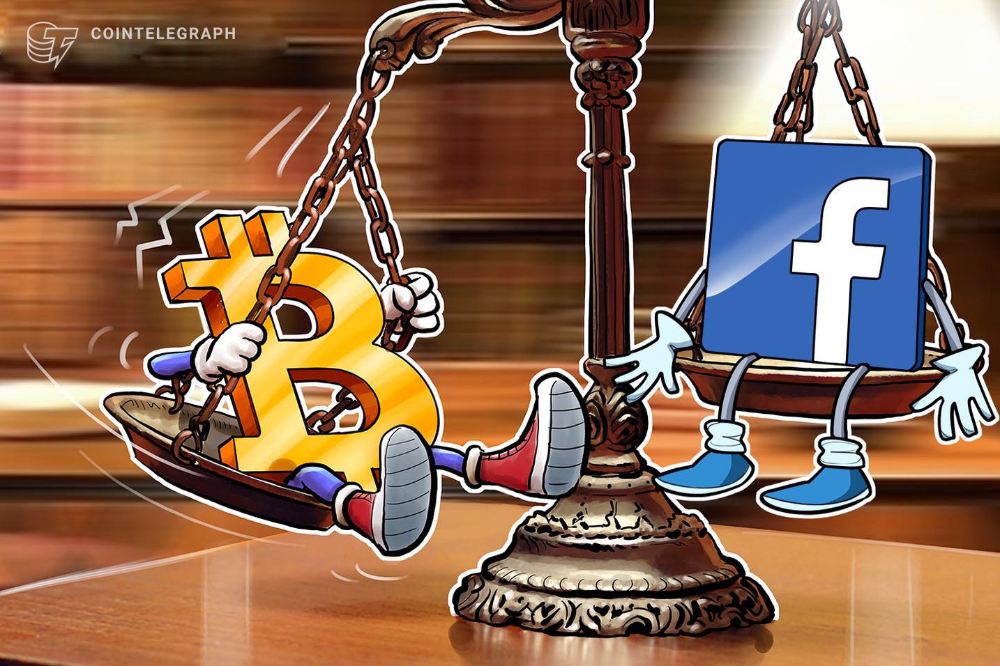 Não, não é o Facebook: o preço do Bitcoin já subiu 200% em 2019 antes do Libra