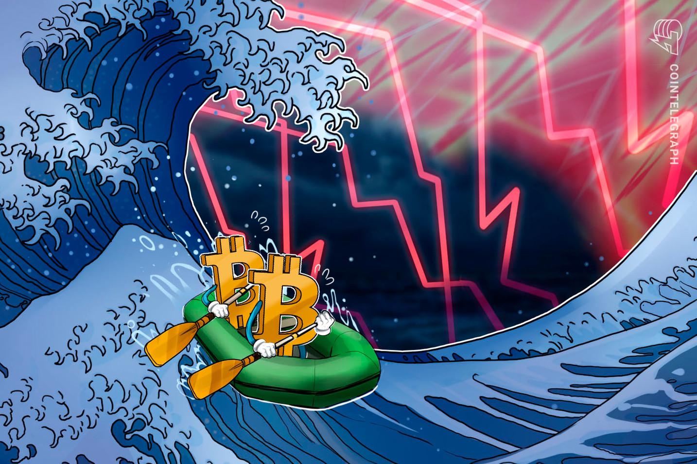 El precio de Bitcoin cae a $8,900 y aumenta el temor de que comience una nueva tendencia bajista