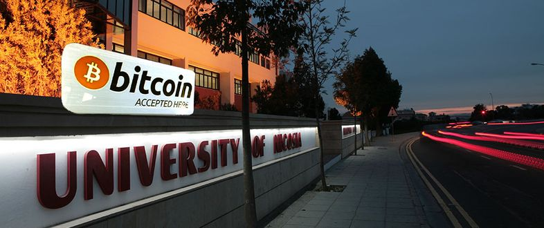 University of Nicosia in Cyprus is first in the world to accept Bitcoin
