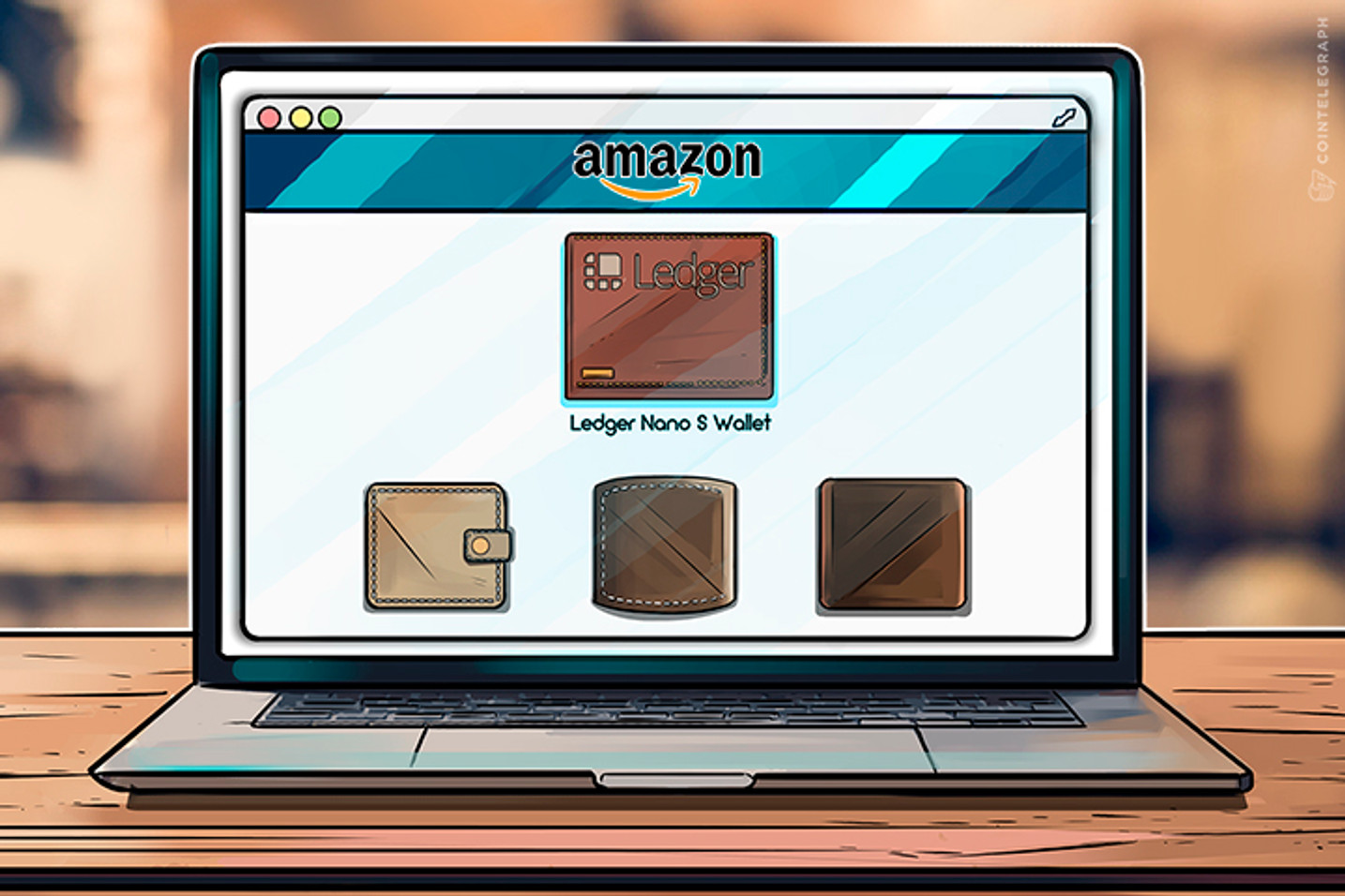 ¿Criptomanía? La cartera del hardware llega a No.8 en la lista del mejor vendido de Amazon