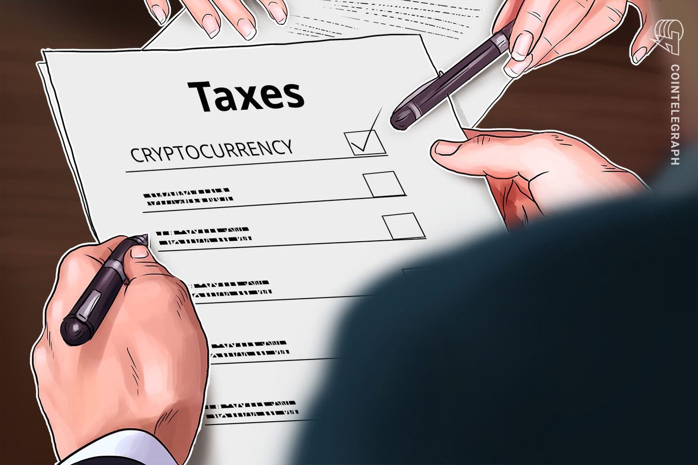 Congressistas americanos pedem para o IRS esclarecer as denúncias de impostos sobre criptos antes de 15 de abril