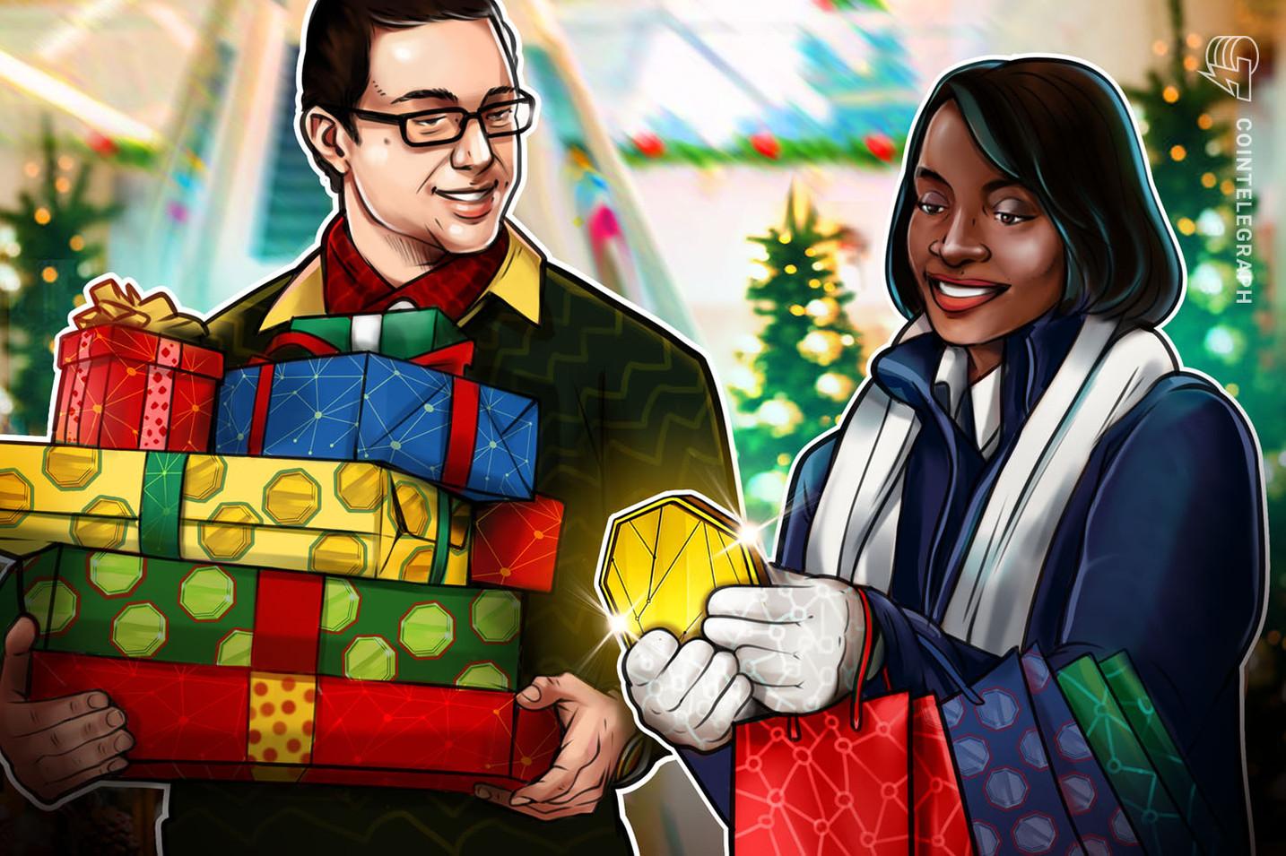 Weihnachtseinkäufe: Wo können Sie Ihre Geschenke mit Krypto kaufen?