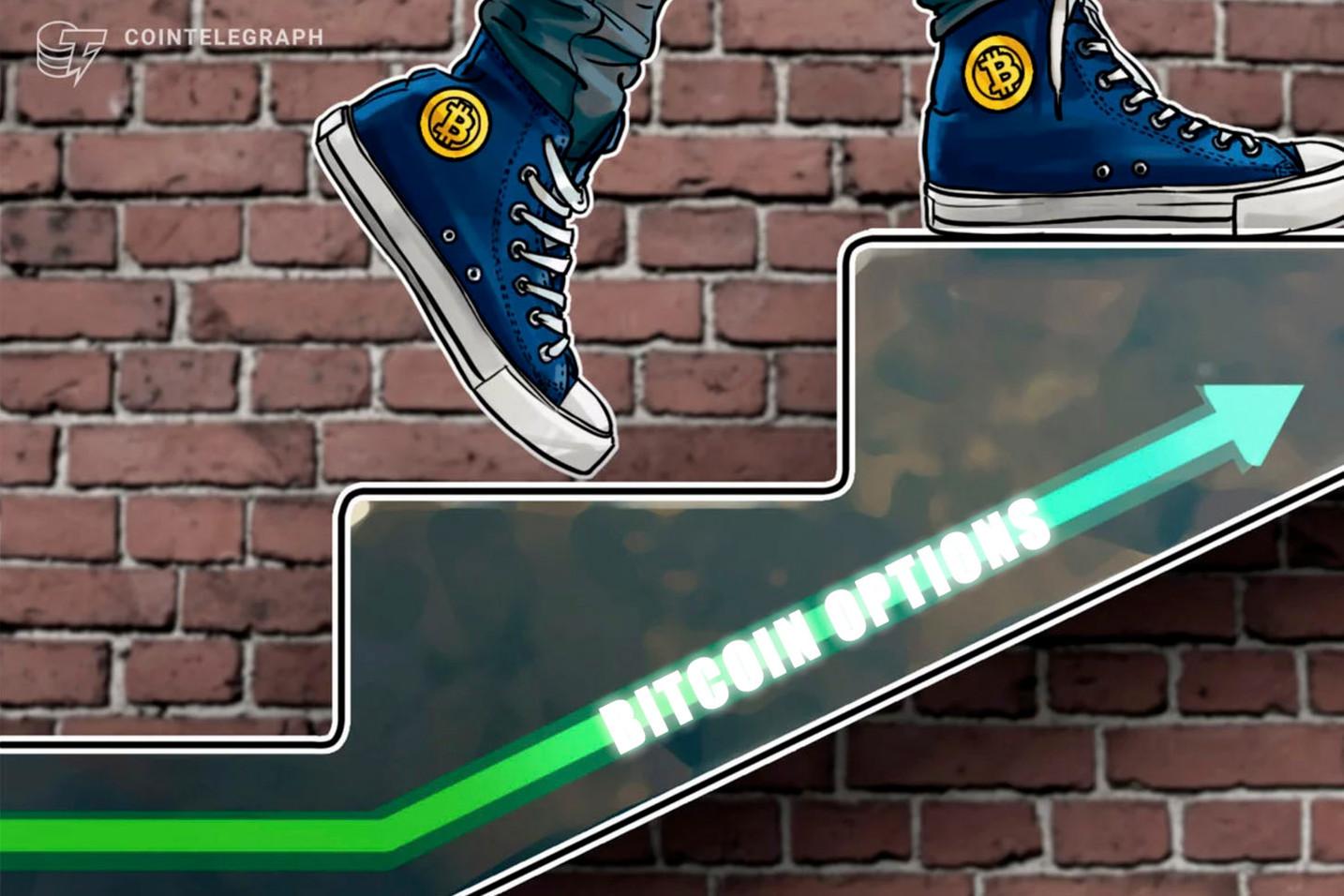 Un nuevo récord de volumen del mercado en las opciones de Bitcoin muestra el gran interés institucional