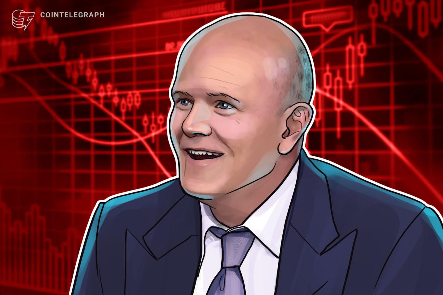 Mike Novogratz: gli investitori hanno perso la propria fiducia in Bitcoin