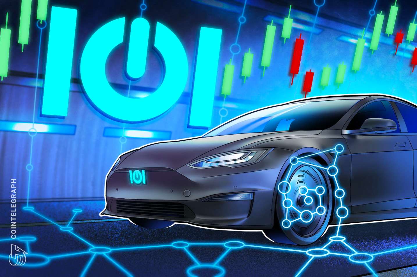 This video game platform offers token earnings by racing NFTs