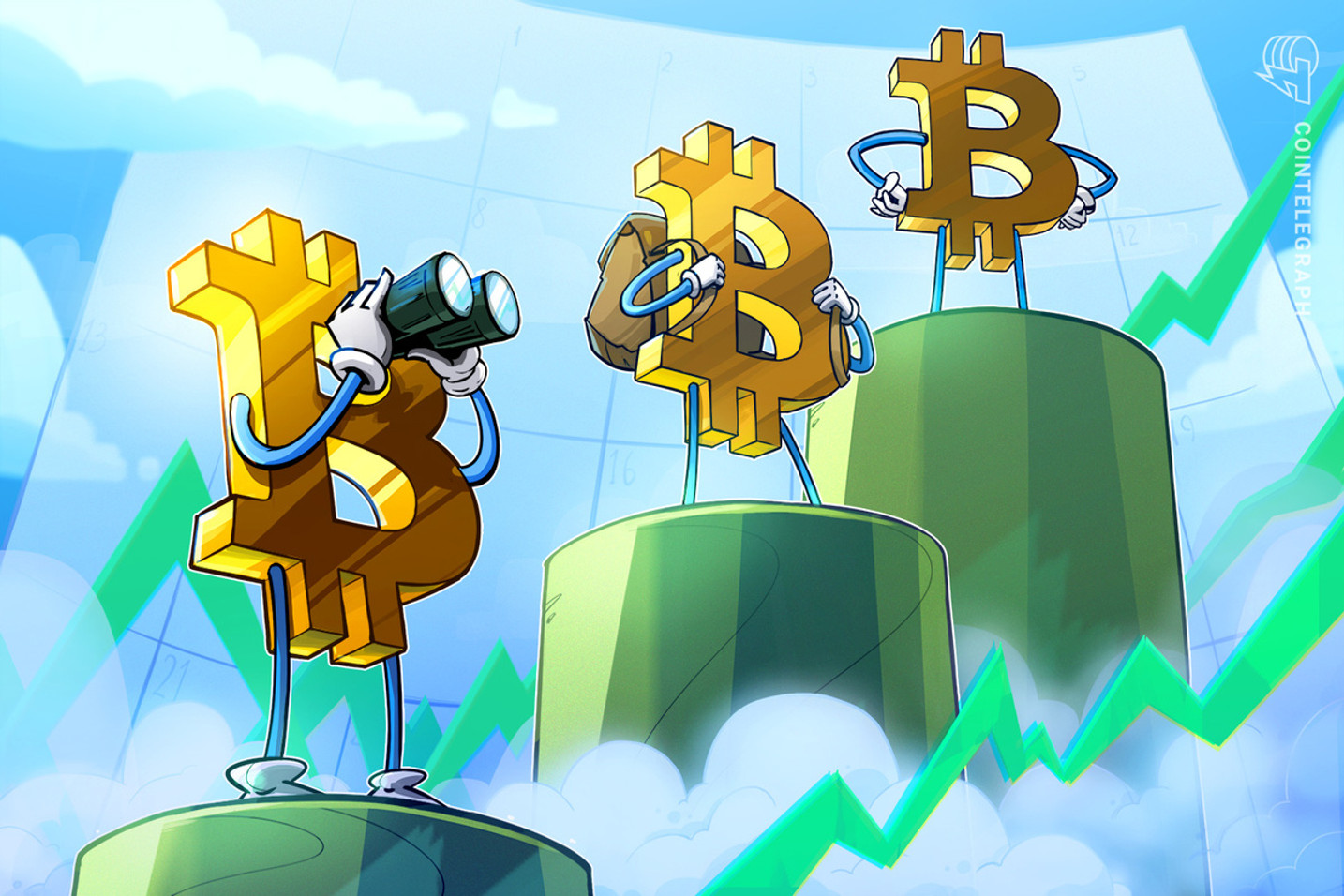 仮想通貨ビットコイン、1万ドルに接近するにつれて先物建玉が急増