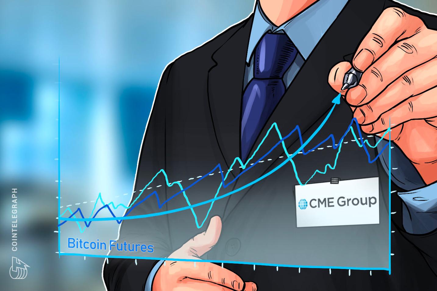 CME Bericht: Durchschnitts-Handelsvolumen für Bitcoin Futures steigt im Q2 um 93%