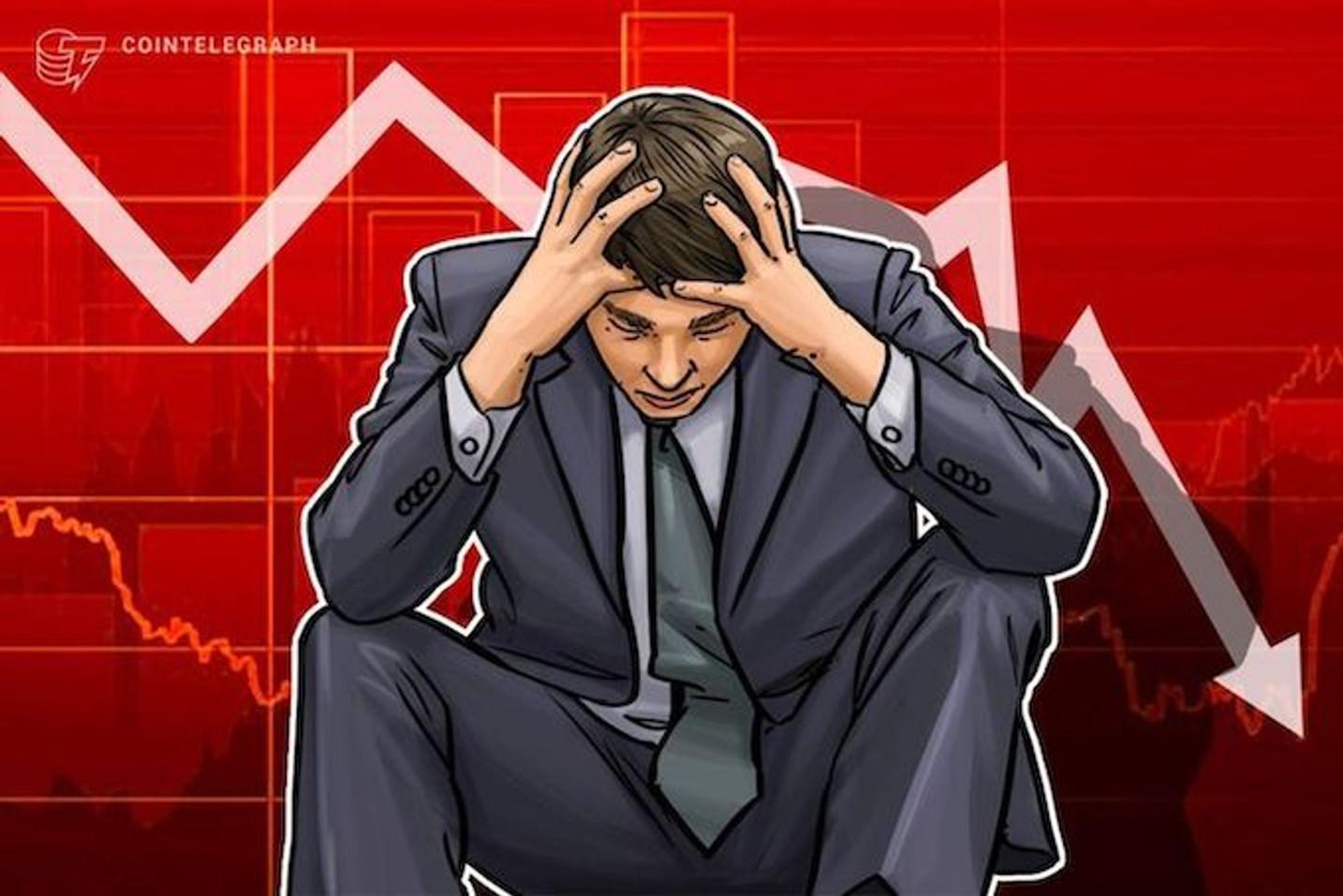 テザーショック再び、仮想通貨全面安の展開。リップル(XRP)は期待から下落幅浅い|仮想通貨相場市況(4月26日)