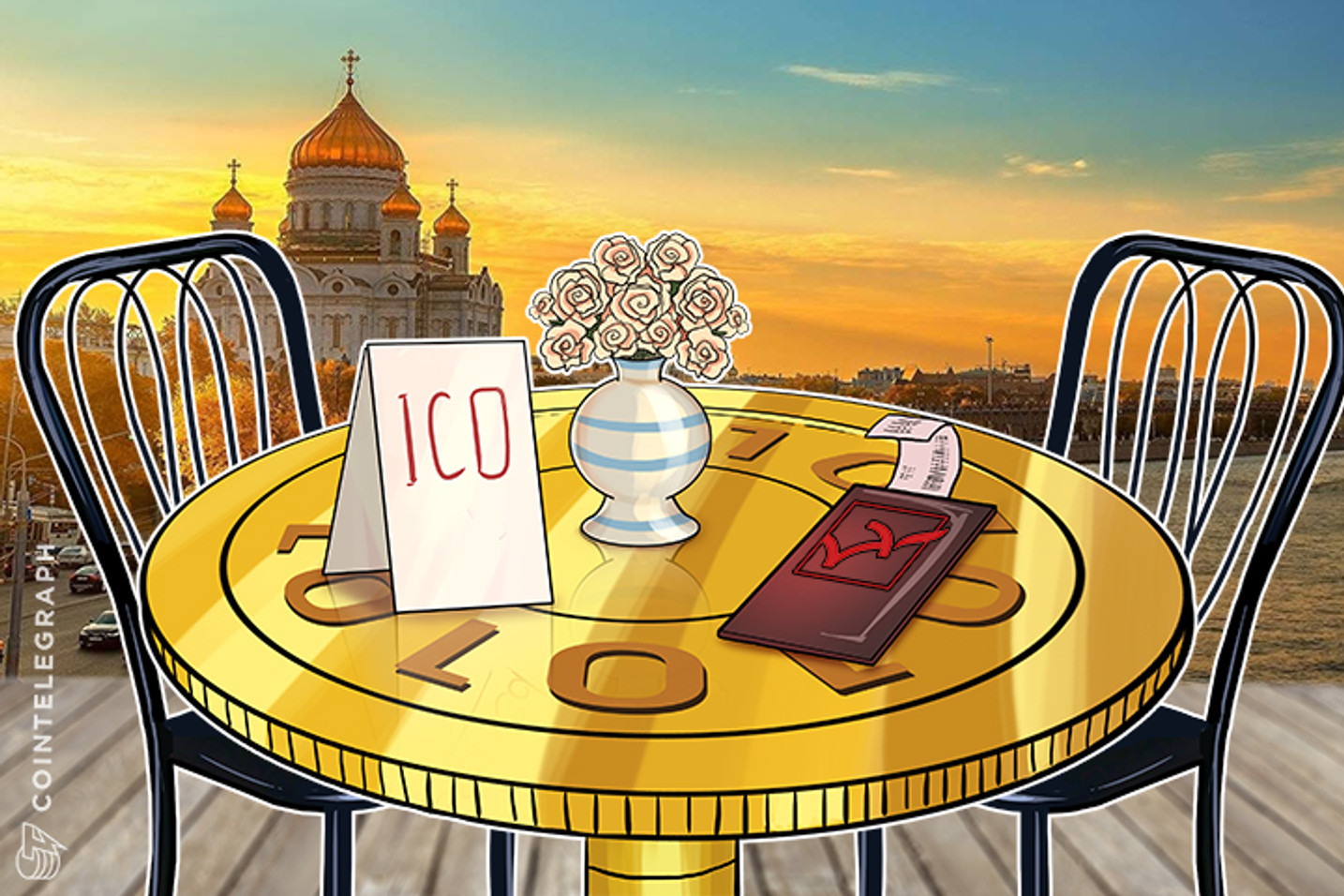 Russian Restaurant Chain Launches ICO-Themed Menu Complete With Chinese Ban