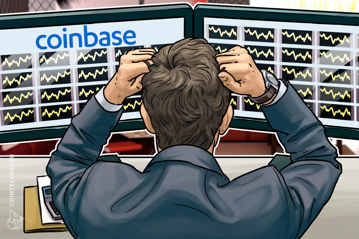 Coinbase Beş Katına Çıkan Bitcoin Trafiği Nedeniyle Çöktü