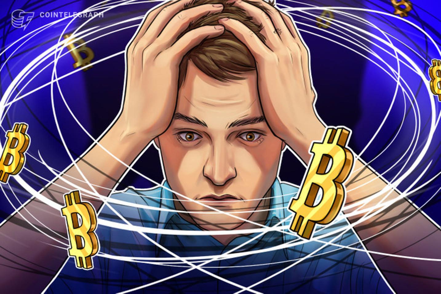 Juros abertos de derivativos de Bitcoin na CME caem 15% e mantém investidores institucionais em estado de alerta