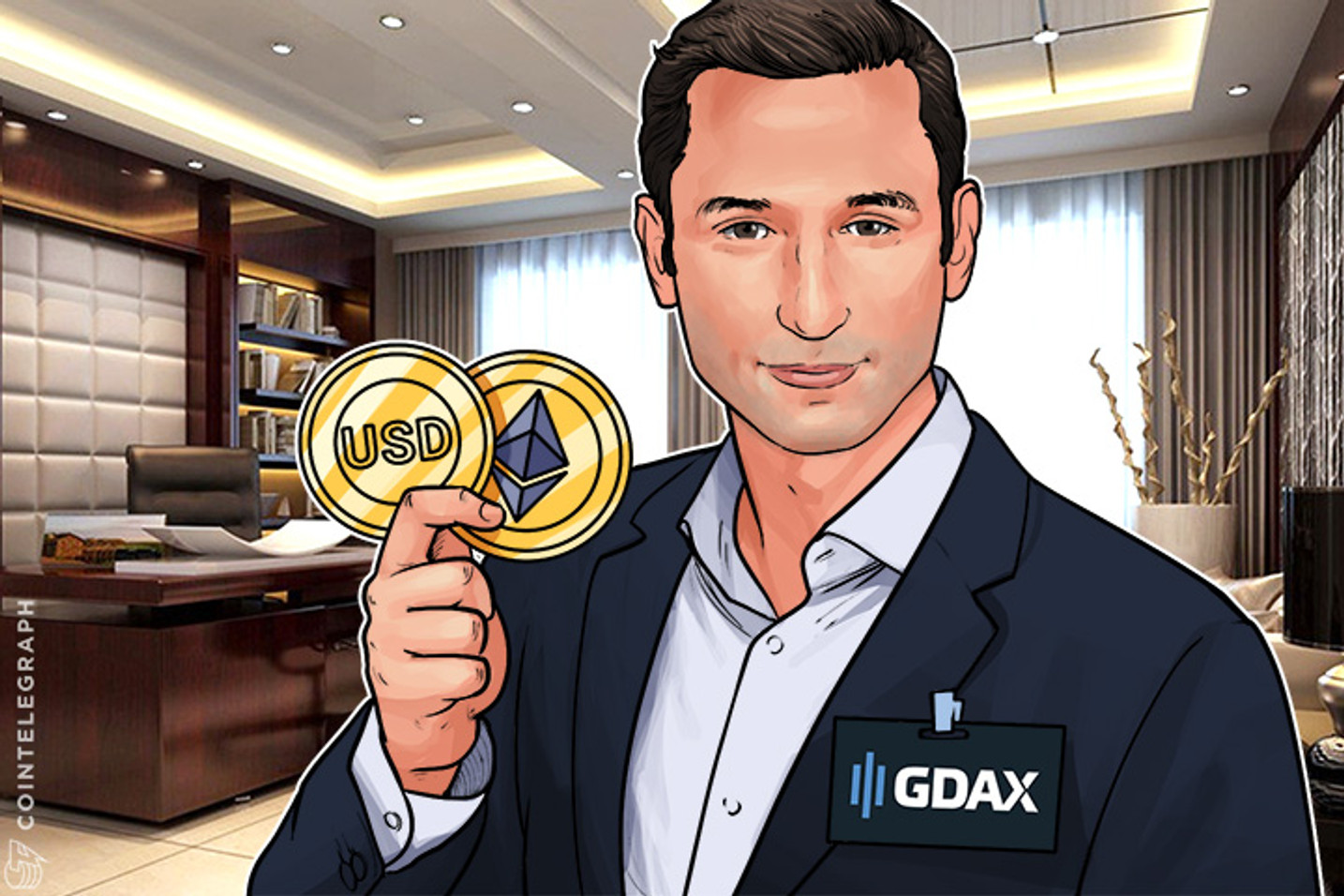A GDAX Compensará Clientes Que Perderam Dinheiro No ETH Flash Crash