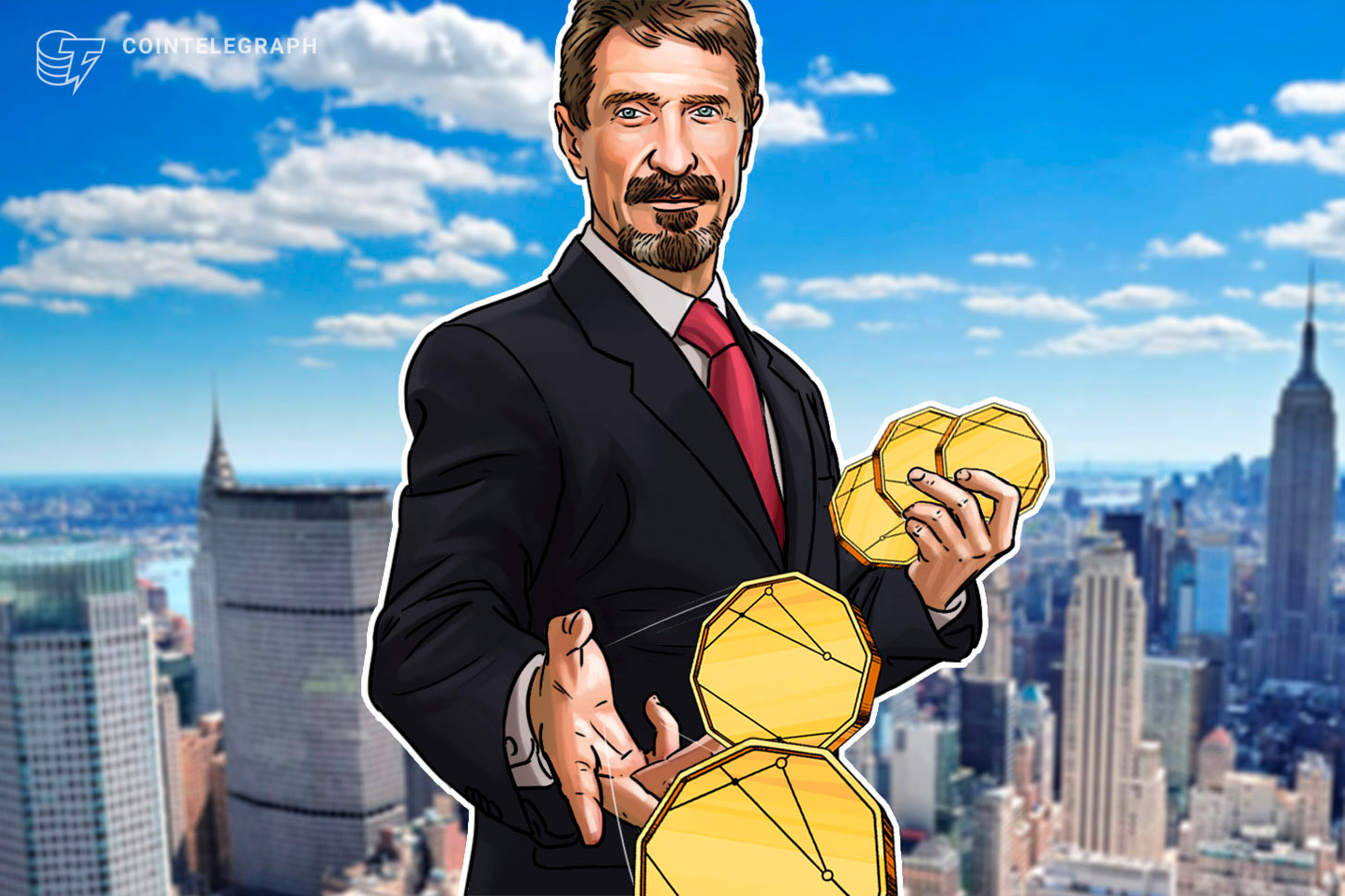 'I Don't Want to Be President': John McAfee to Exclusively Promote Crypto in 2020 Race