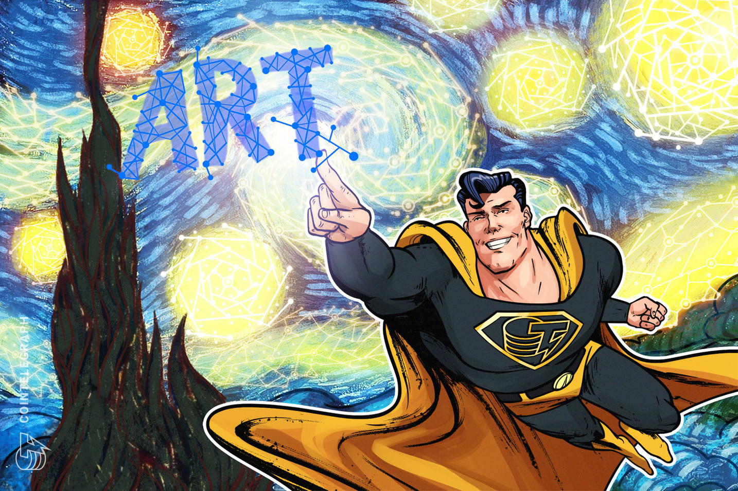 Cointelegraph moderates CV Labs' first 'Blockchain in Art' online panel