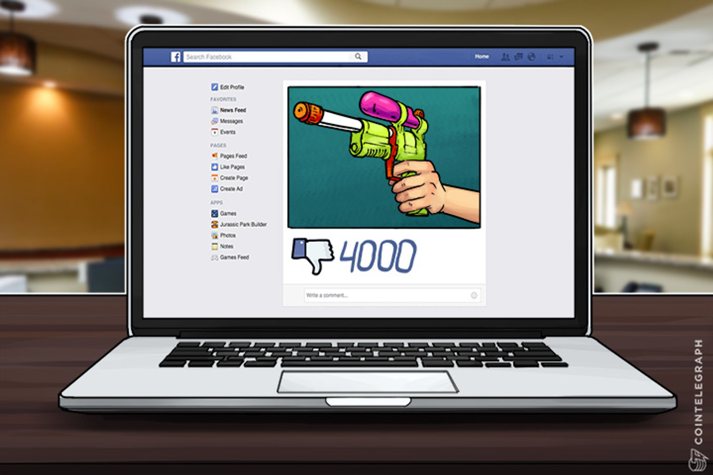 Gun Sales Continue Unabated On Facebook