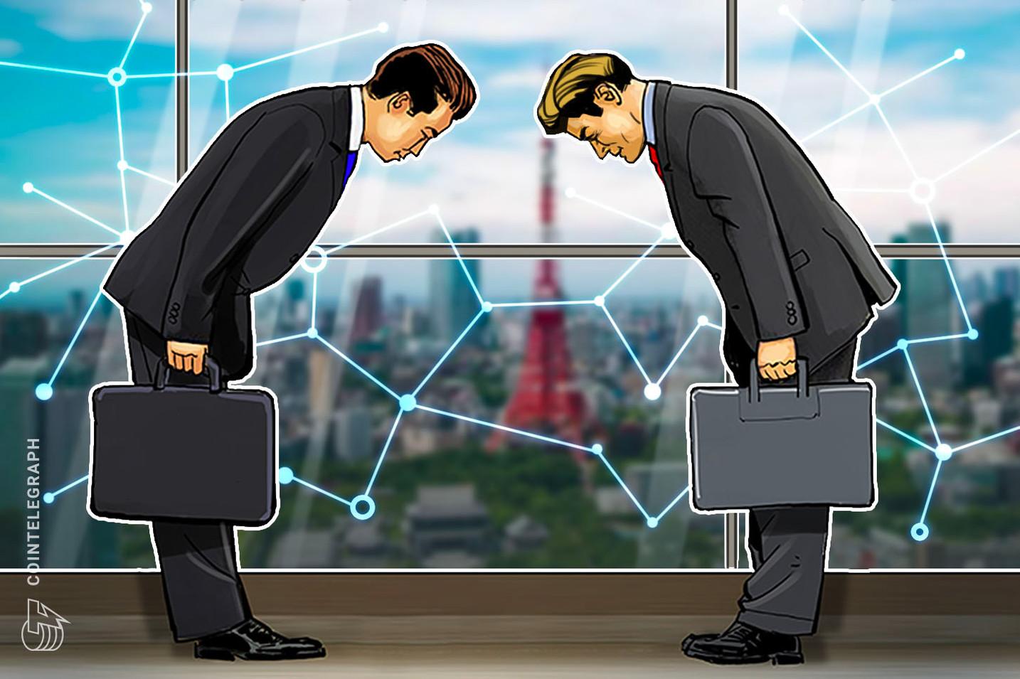 Japón: aplicación de mensajería LINE se asocia con gigante financiero para crear una alianza de blockchain