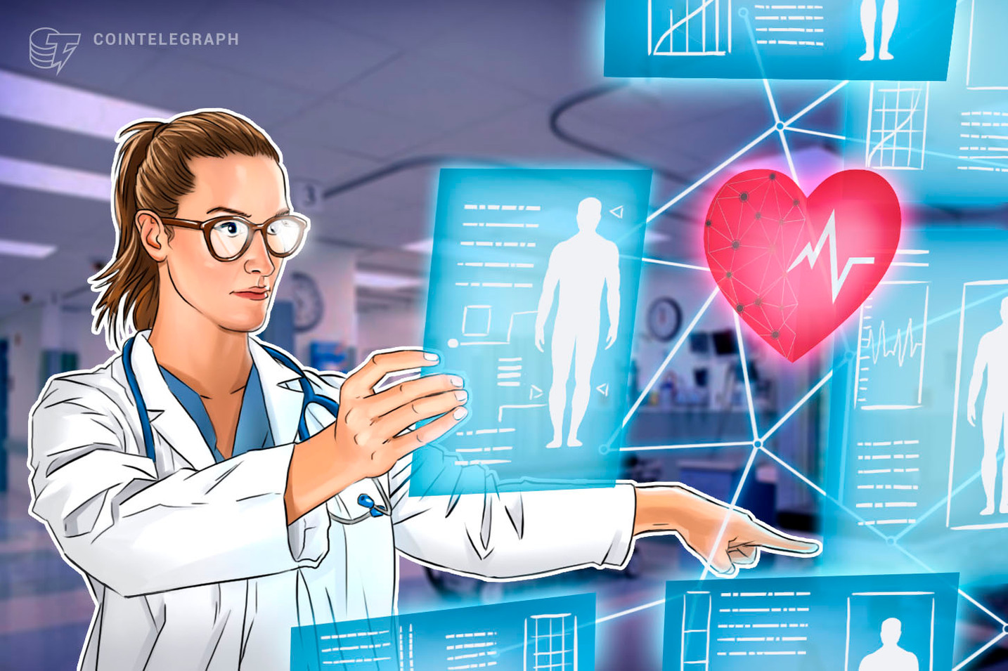 Company to Store Healthcare Data on Blockchain Platform for Simple and Secure Data Sharing