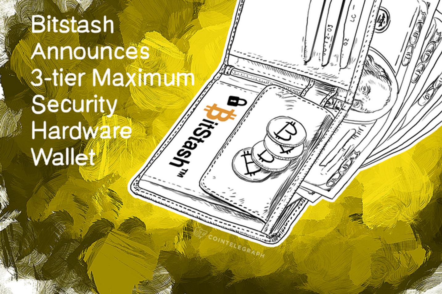 Bitstash Announces 3-tier Maximum Security Hardware Wallet