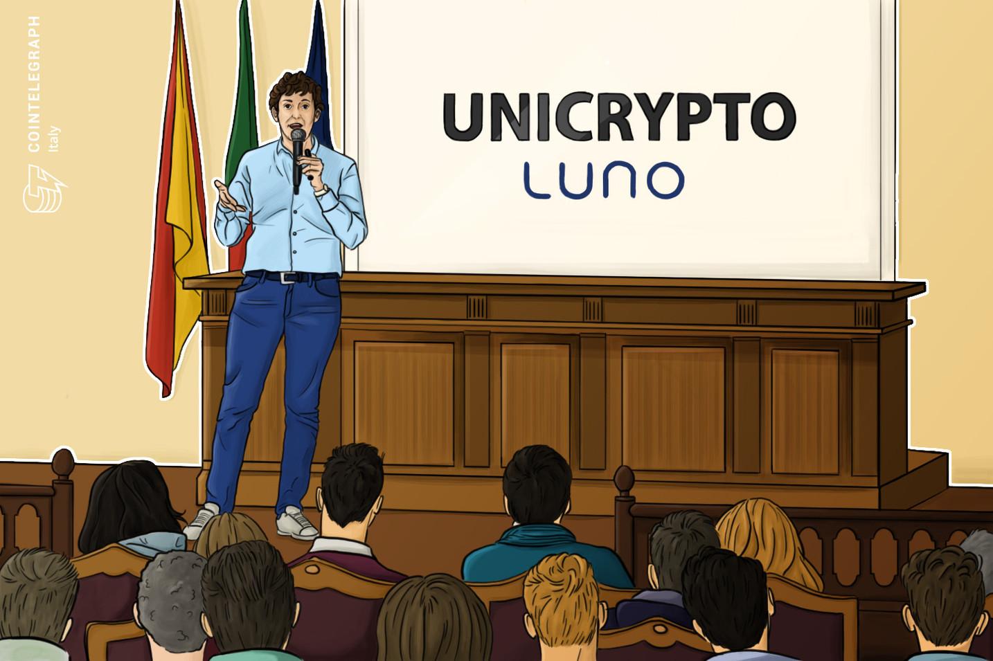 Il tour di lezioni Unicrypto arriva alla Sapienza di Roma