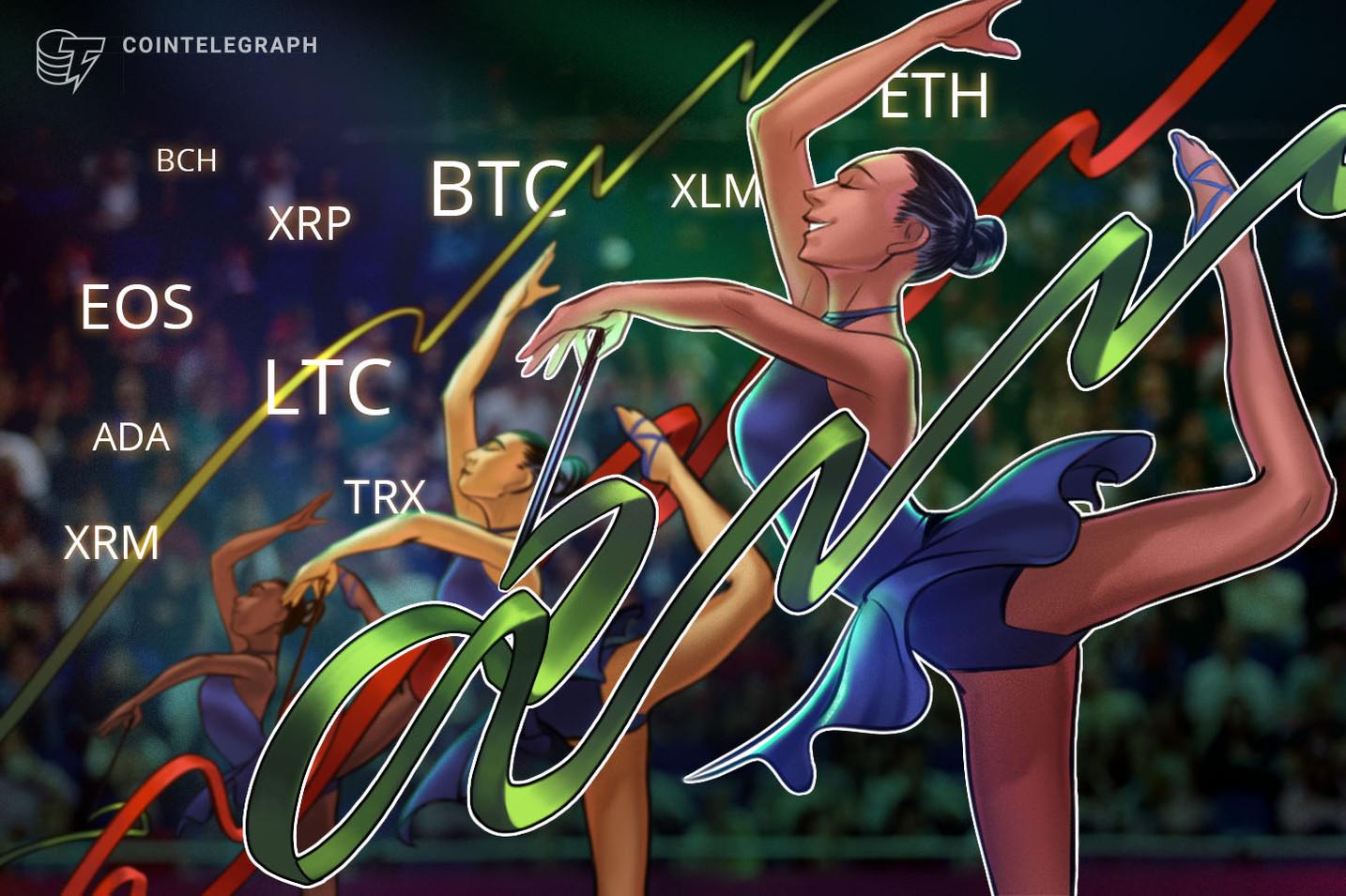 Kursanalyse, 3. Dezember: Bitcoin, Ripple, Ethereum, Bitcoin Cash, Stellar, EOS, Litecoin, Cardano, Monero, TRON