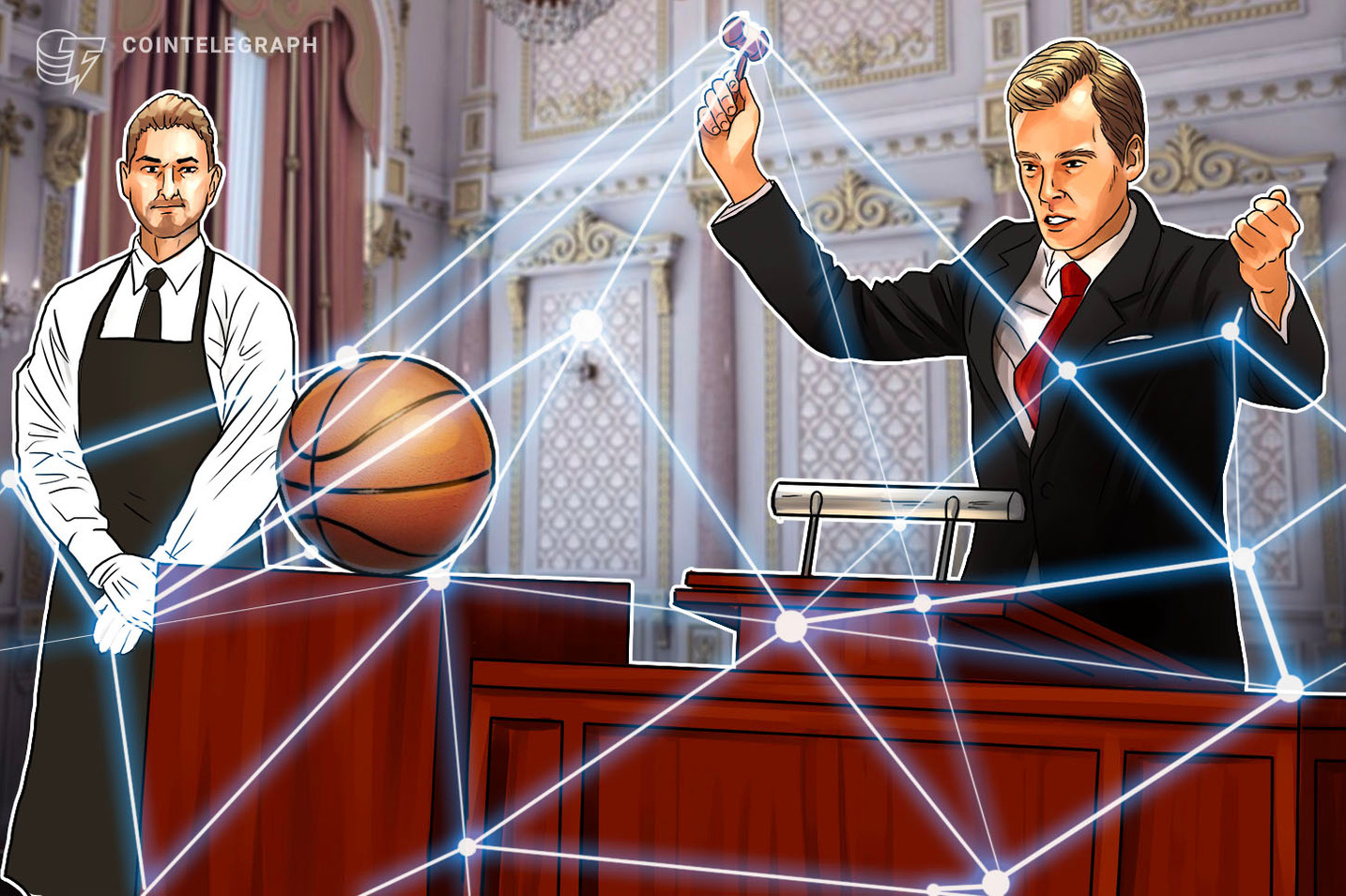 NBA's Kings Continue Reign Over Crypto-Fan Collab with Live Auction Platform