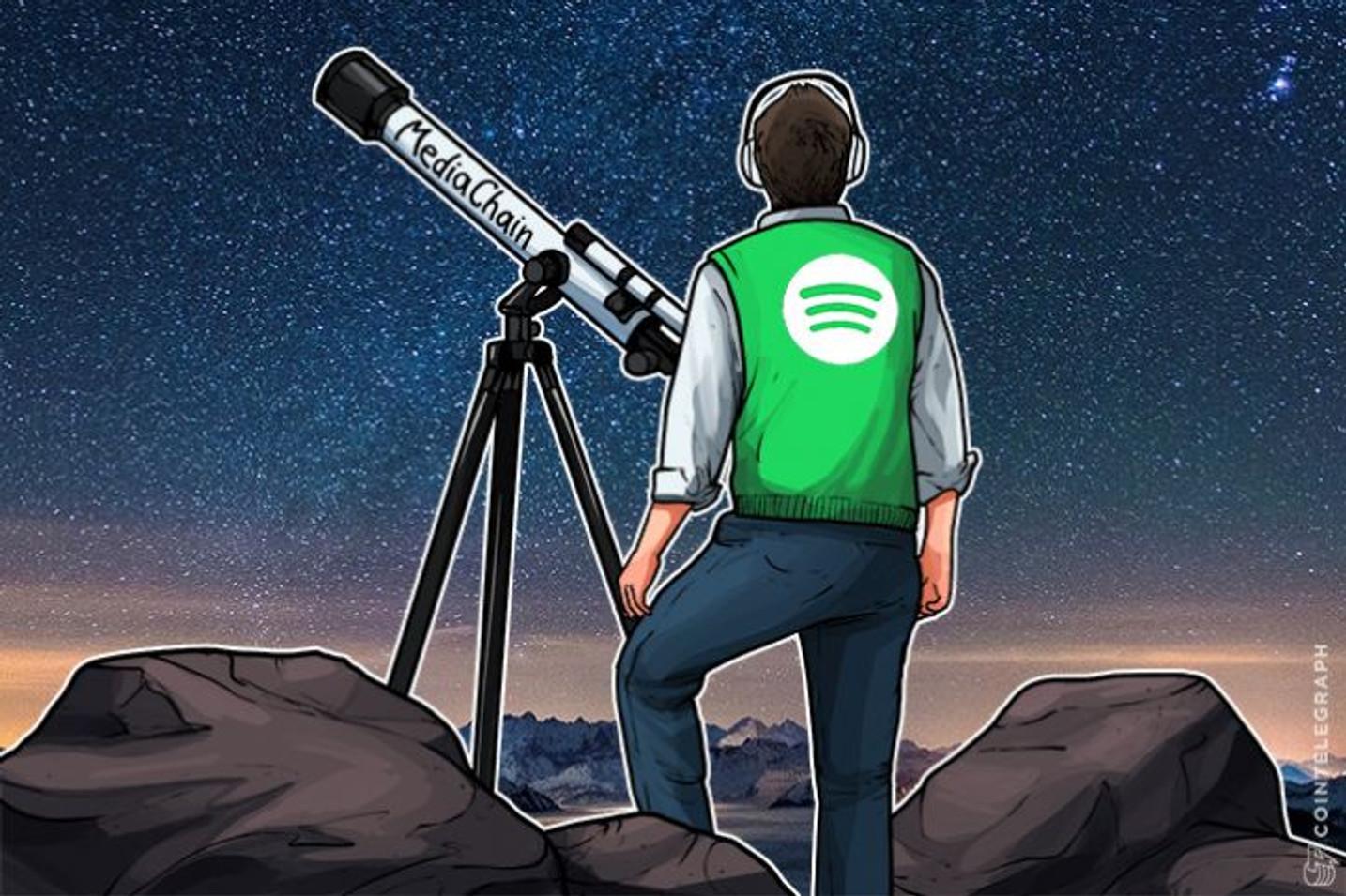 Iznenada, Spotify je prešao na Blokčein sa ciljem da poboljša praćenje autorskih prava