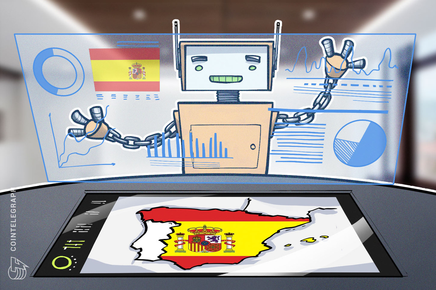 Comunidade autônoma espanhola de Aragão se tornará a primeira no país a aplicar blockchain