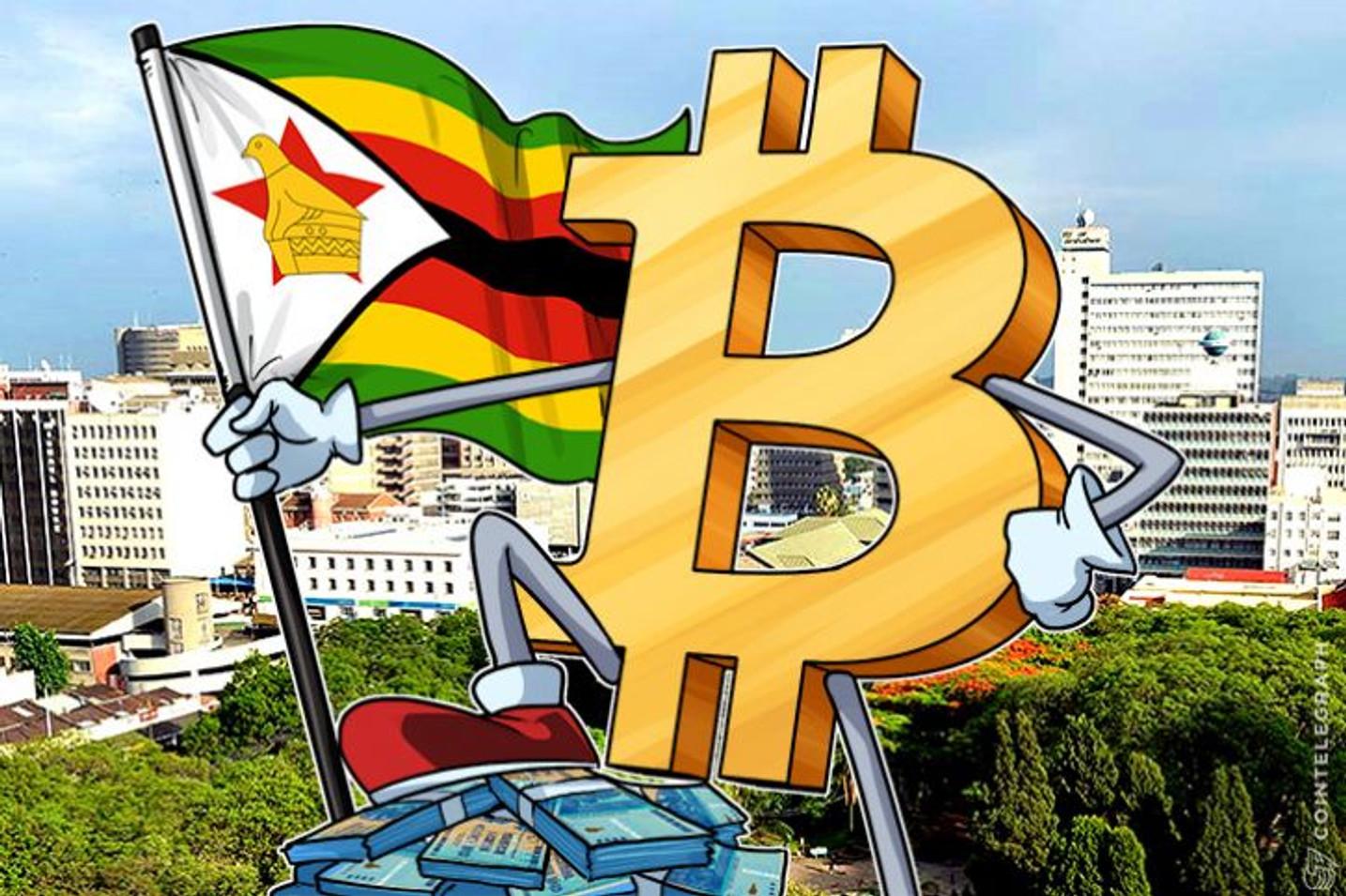 El precio de Bitcoin de Zimbabwe en $ 7.200 debido a los temores económicos y a la hiperinflación