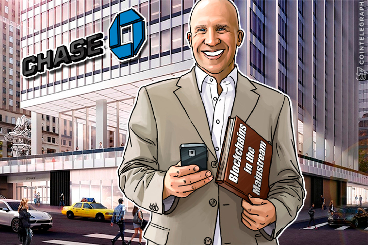 Your Phone is Better Than Chase Manhattan: Stories Behind Blockchain