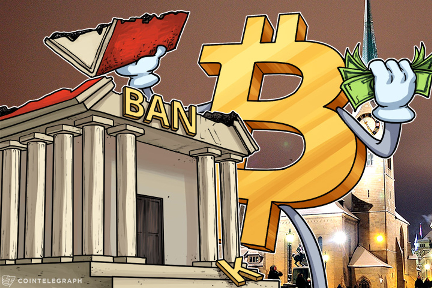 Don't Bank On It! Bitcoin Prices Rise, Banks Renationalize