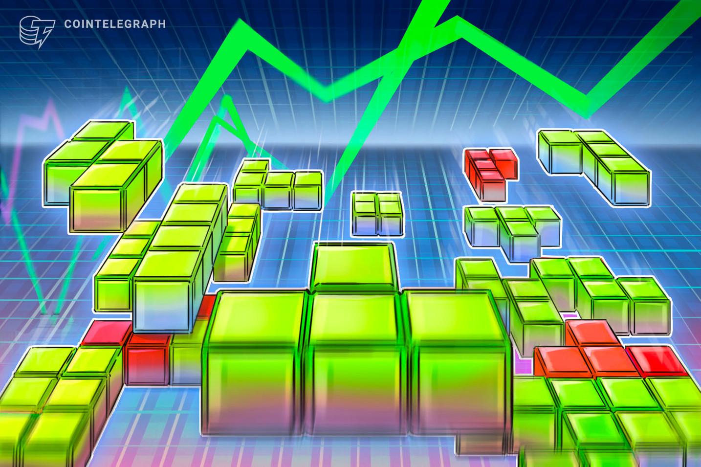 Kryptomärkte beim Handelsstart leicht im Plus, US-Aktien fallen