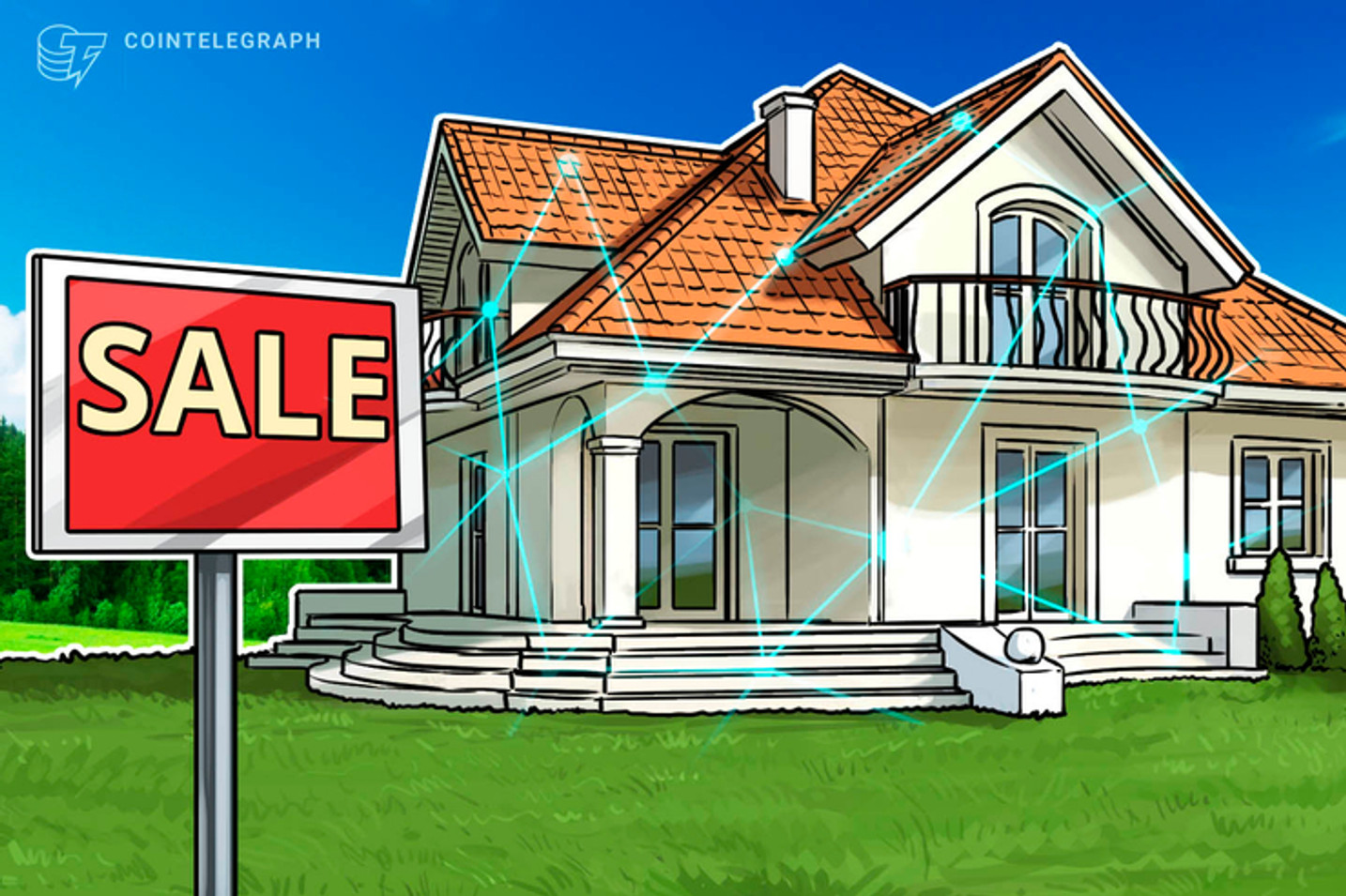 Cripto-casa NFT: artista vende mansão em Marte por R$ 2,75 milhões em Ethereum (ETH)