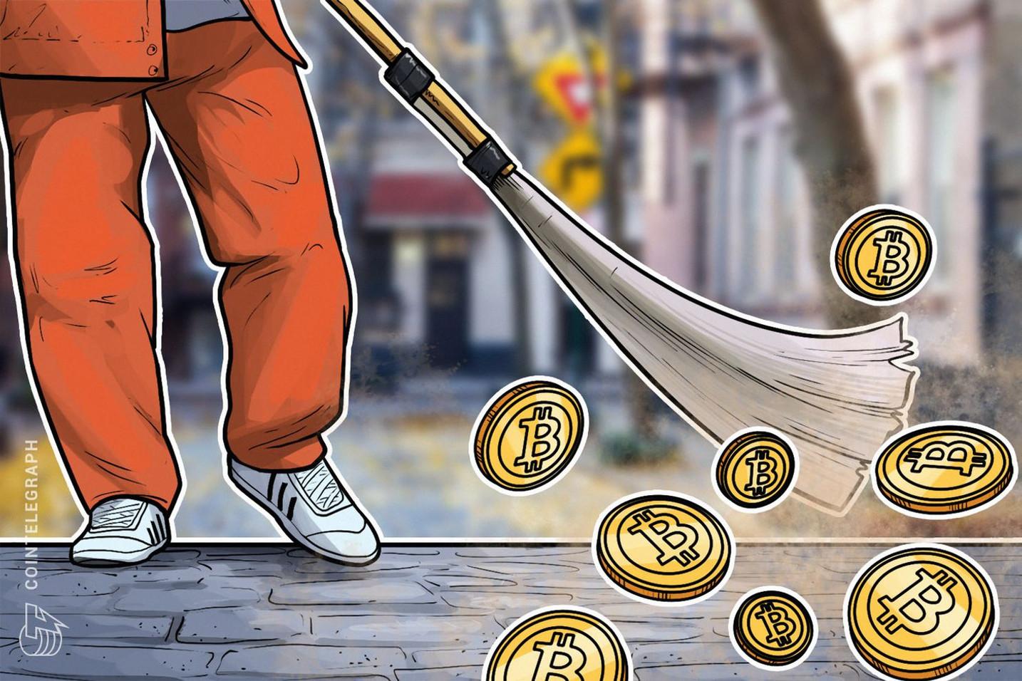 仮想通貨ビットコイン また8000ドルの壁に跳ね返される ライトコインは好調キープ 年初来で350%上昇