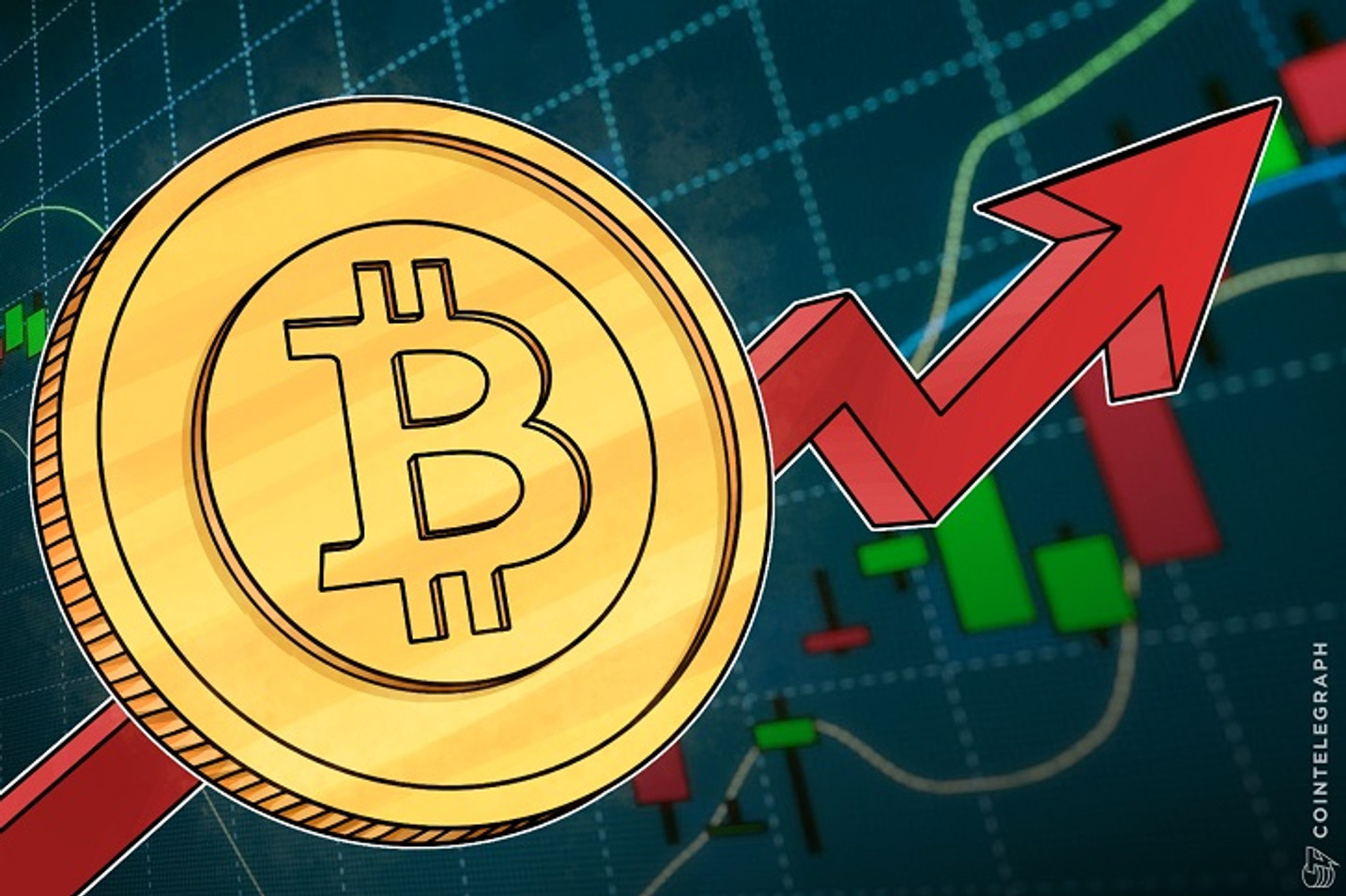 Bitcoin Rises Seven Percent In 24 Hours, May Start Rallying $1 bln Market Cap Per Day