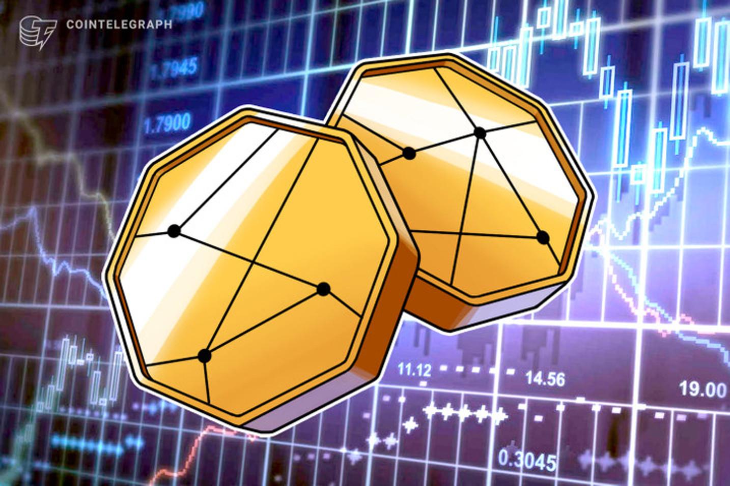 Três tokens se destacam na recuperação do mercado e sobem até 26% em 24 horas
