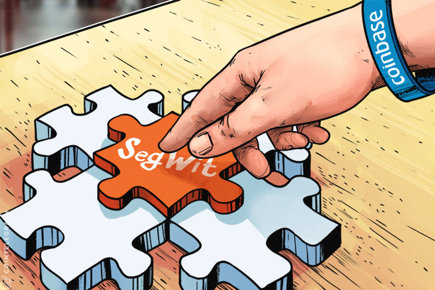 Coinbase revela la integración de SegWit, desarrolladores ya están trabajando en la infraestructura de Bitcoin