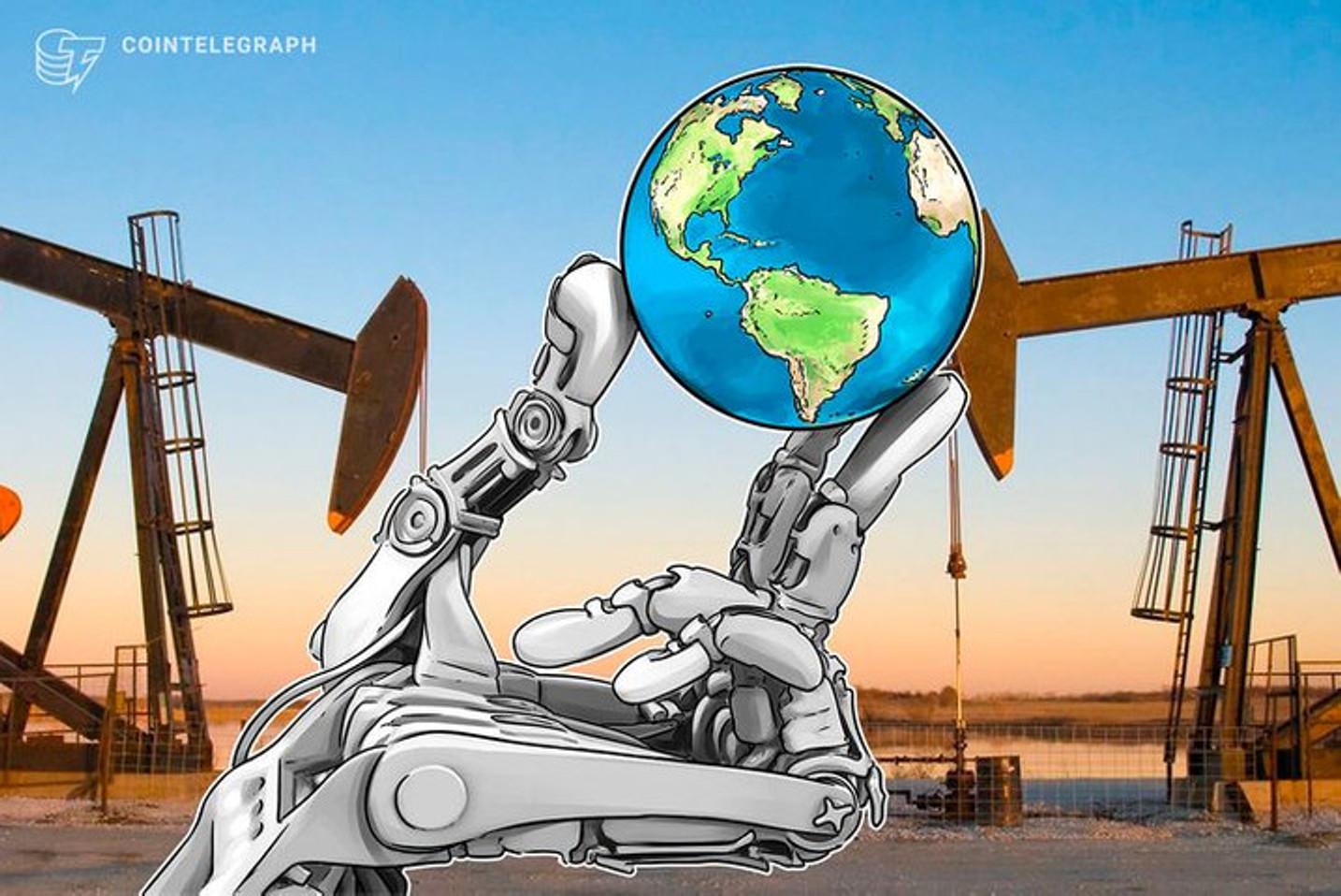 Grandes petrolíferas adotam blockchain para controlar emissão de carbono e prometem 'carbono zero' até 2050