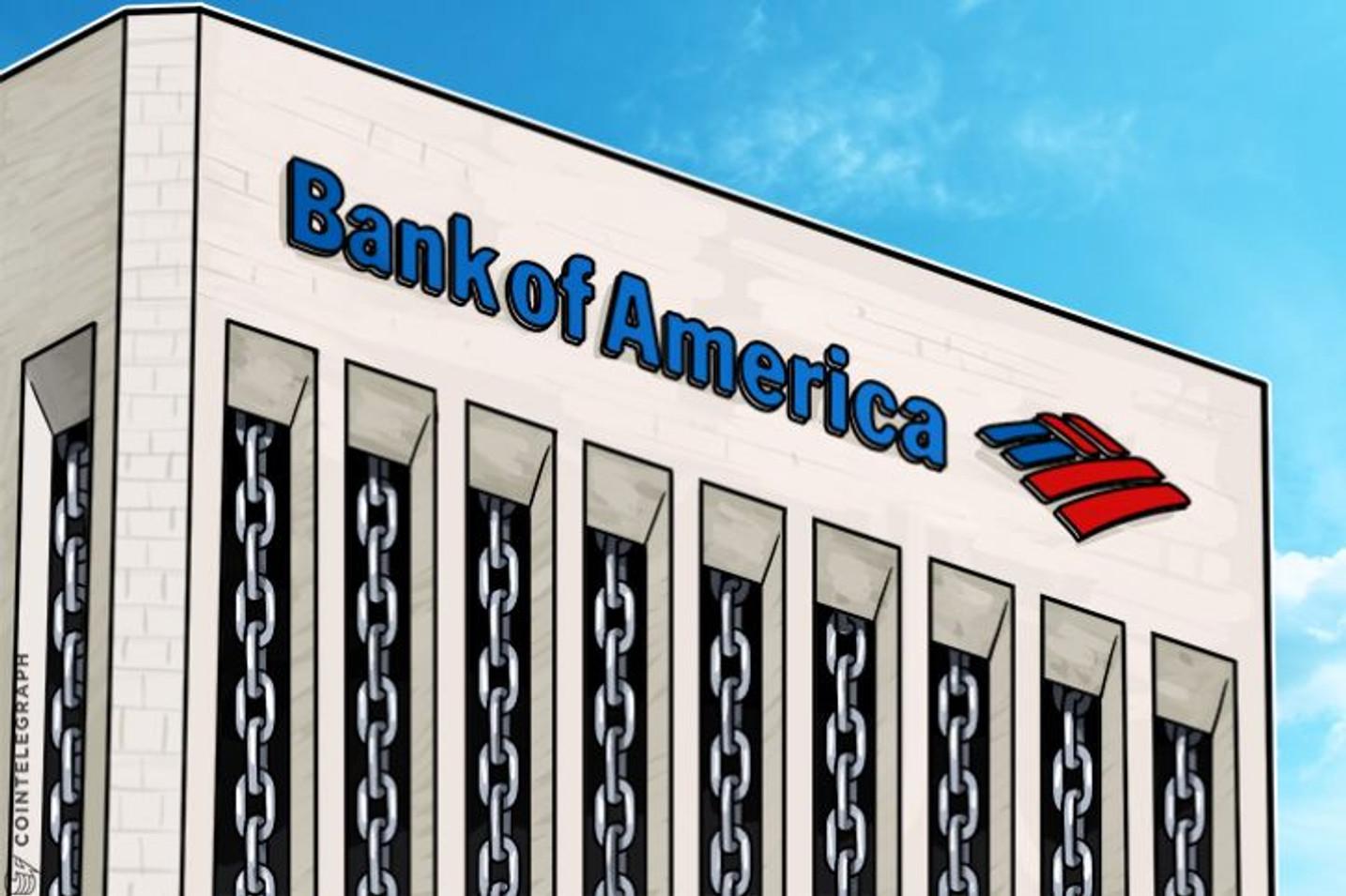 USPTO otorga patente al sistema de intercambio de criptomonedas del Bank of America