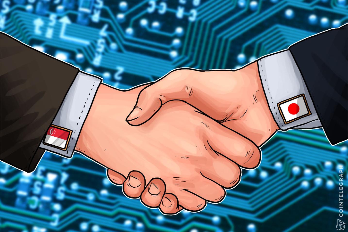 Singapore, Japan Associations Sign Agreement For Joint Fintech Development