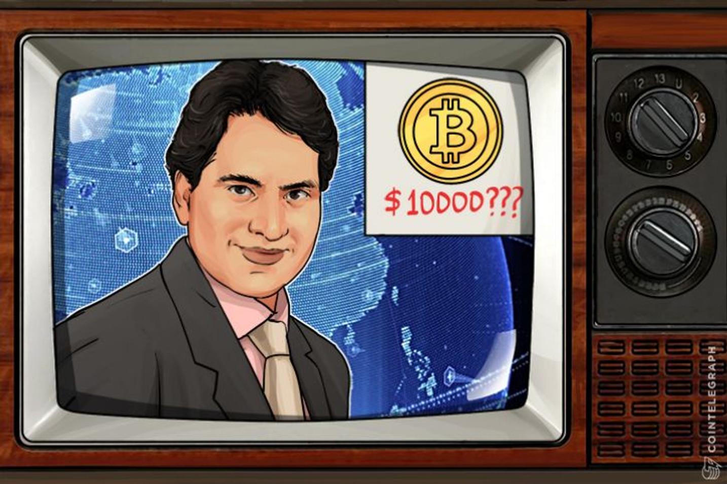 インド最大のニュース系列曰く―ビットコインは1万ドルまで高騰する