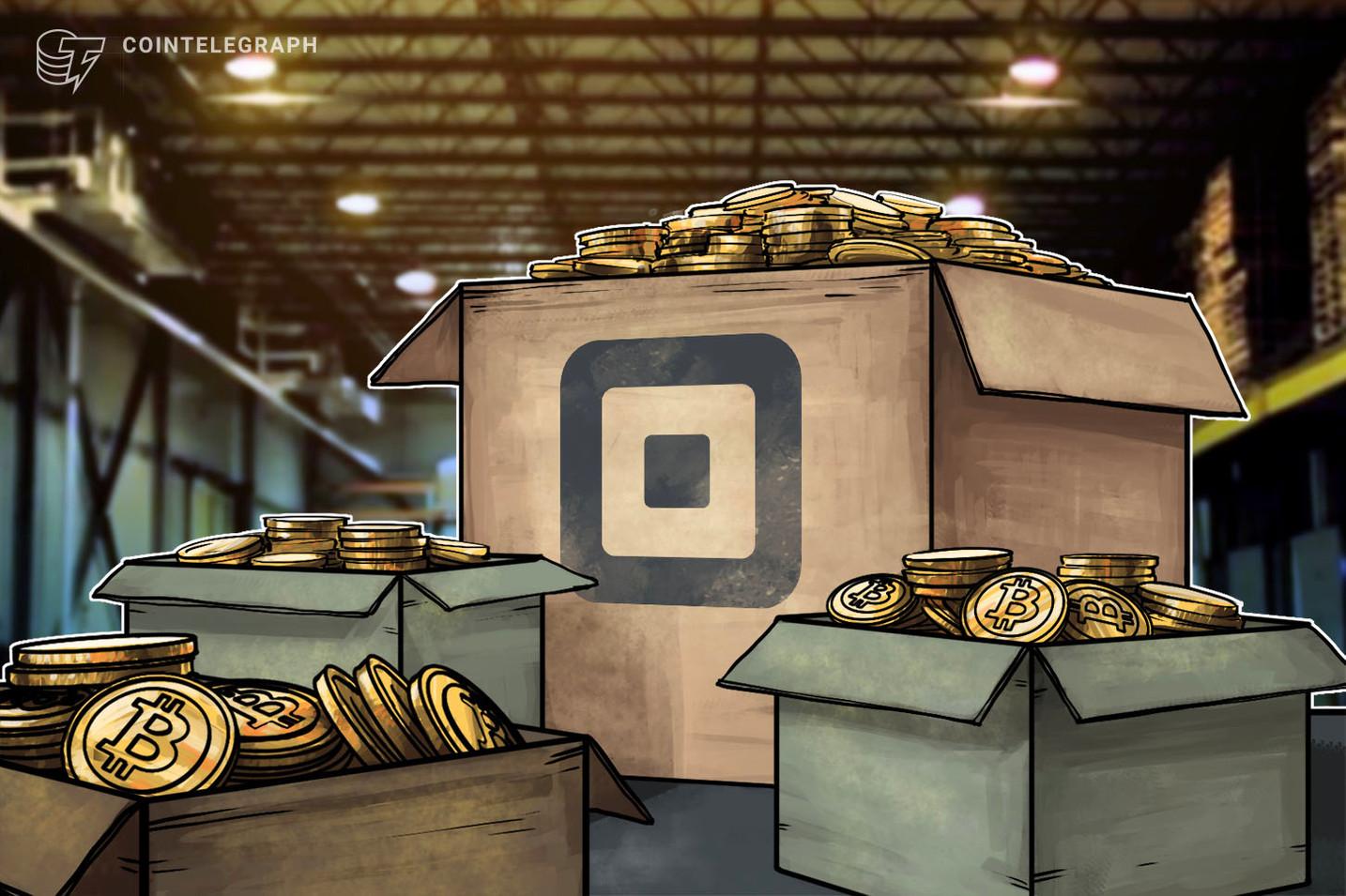 Square compró más Bitcoin, casi duplicando sus tenencias