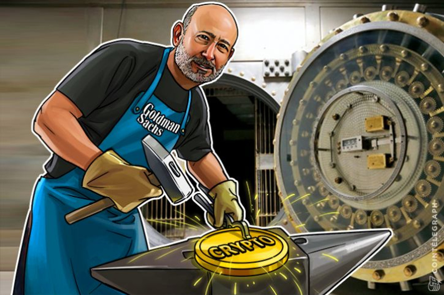 WSJ: Goldman Sachs Planning Direct Bitcoin Trading
