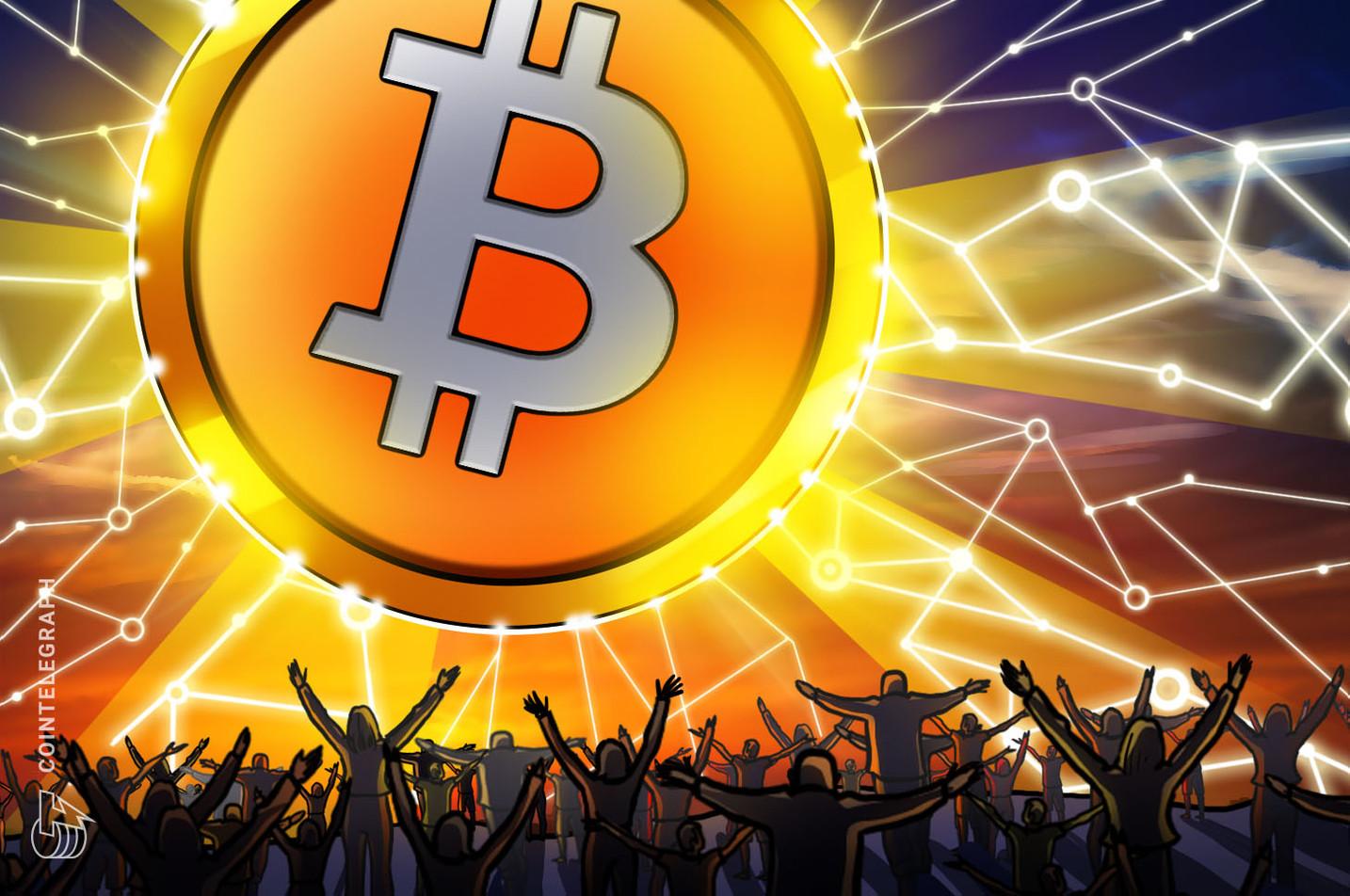 Bitcoin, Bir Gazetenin Tam Sayfa Reklamında Kendine Yer Buldu